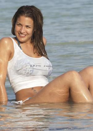 Gemma Atkinson Bikini Photos: 2014 Bali -29