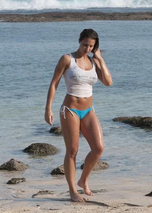 Gemma Atkinson Bikini Photos: 2014 Bali -33
