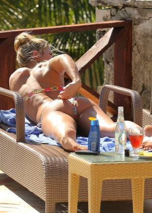 Gemma Atkinson Bikini Photos in Bali -11