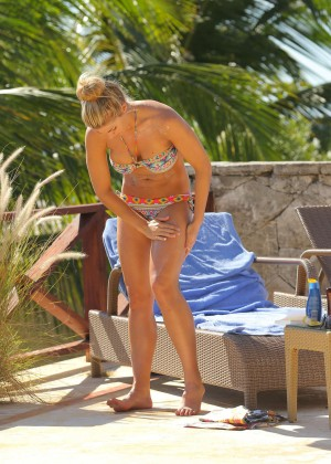 Gemma Atkinson Bikini Photos in Bali -12