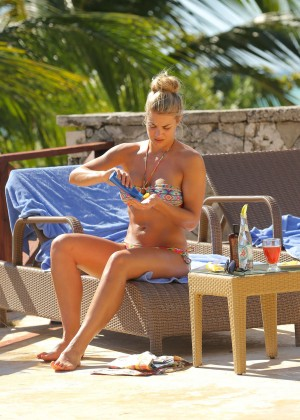 Gemma Atkinson Bikini Photos in Bali -16