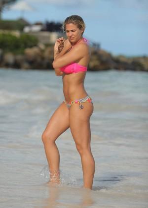 Gemma Atkinson Bikini Photos: 2014 in Dominican Republic -01