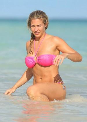 Gemma Atkinson Bikini Photos: 2014 in Dominican Republic -03