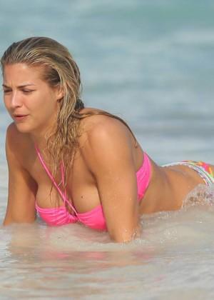 Gemma Atkinson Bikini Photos: 2014 in Dominican Republic -11