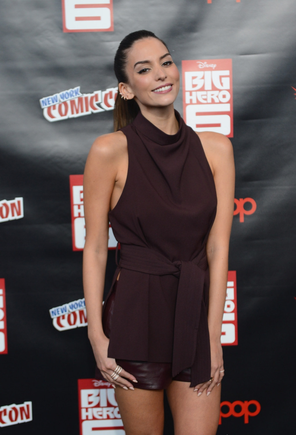 Genesis Rodriguez At New York Comic Con In Nyc Gotceleb