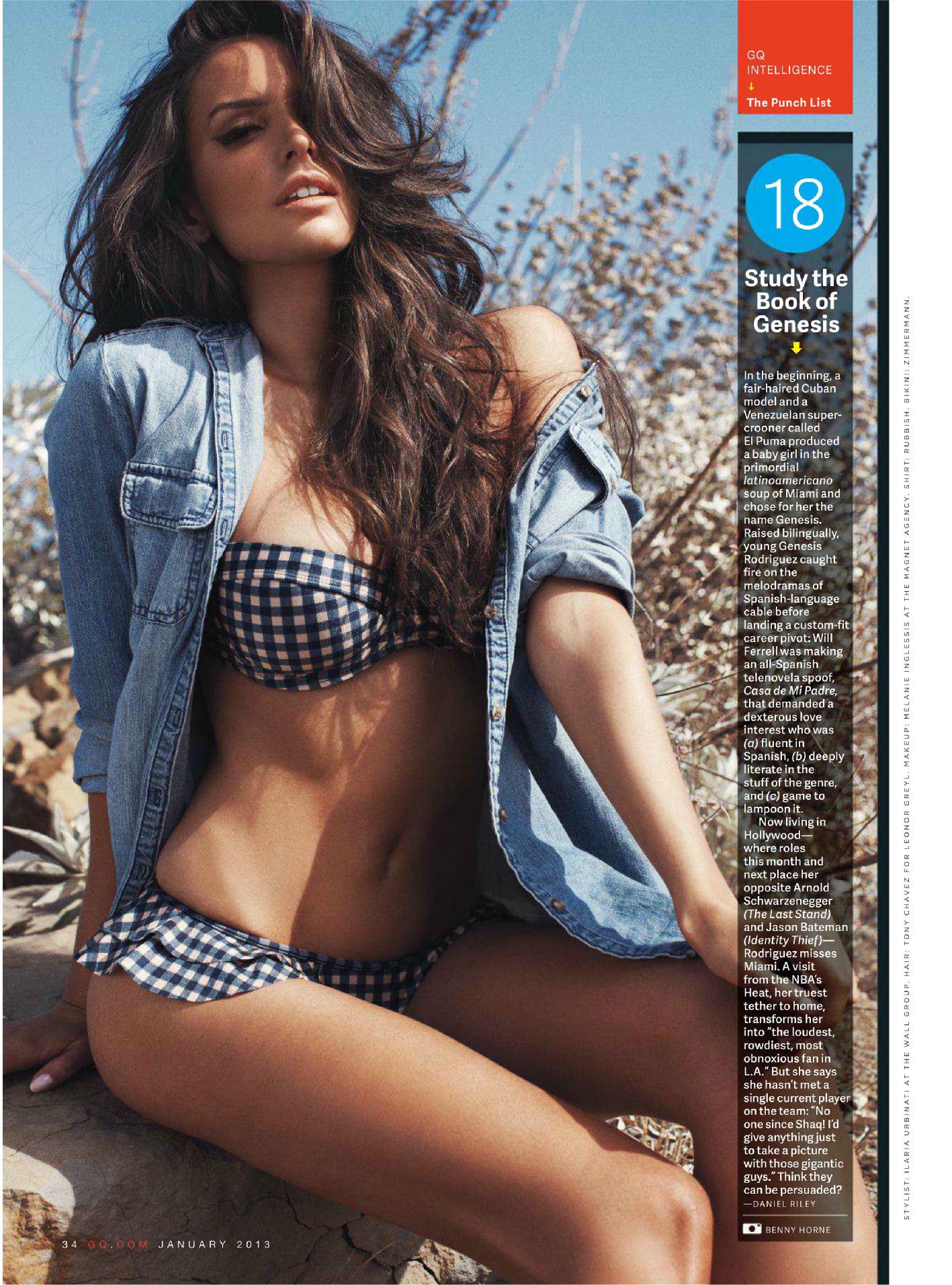 Bikini Genesis Rodriguez nude (73 images), Twitter