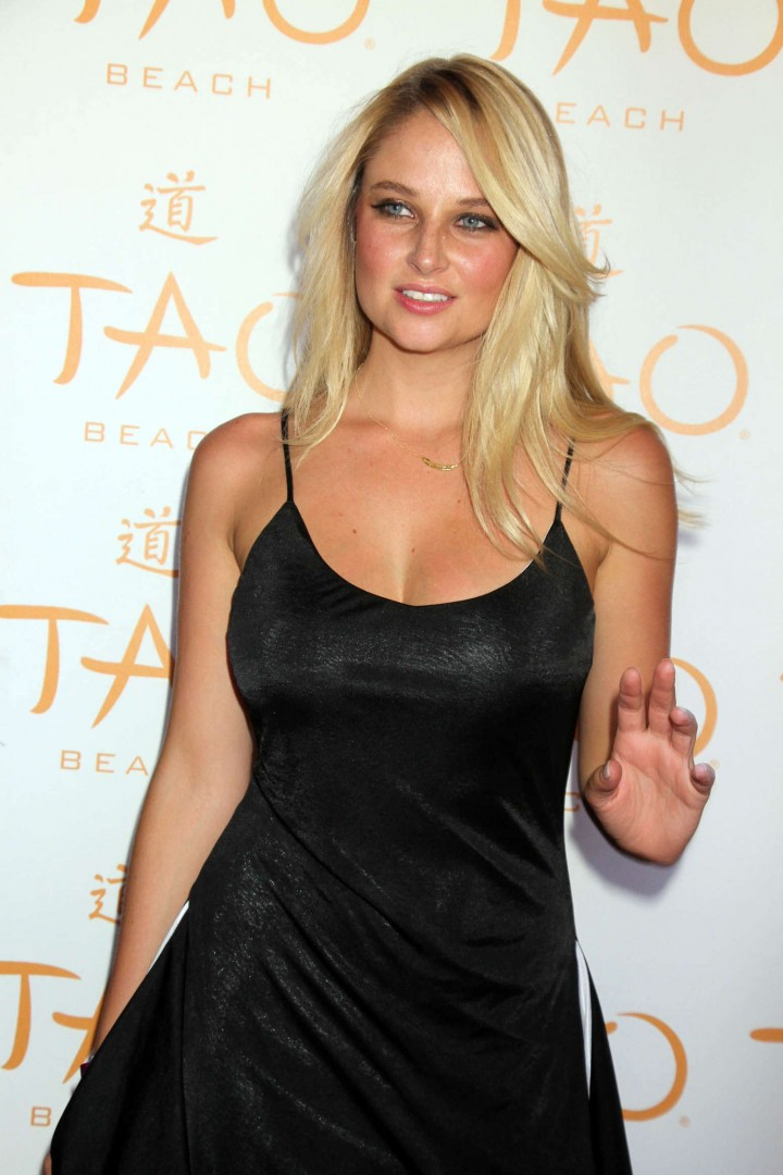 Genevieve Morton at TAO Beach in Las Vegas