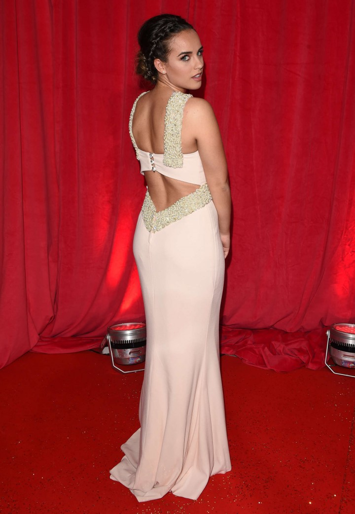 Georgia May Foote - British Soap Awards 2014 in London -08