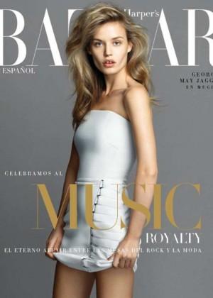 Georgia May Jagger - Harper's Bazaar Mexico Cover (December 2014)