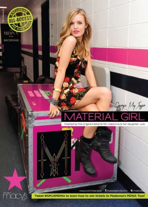 Georgia May Jagger - Material Girl (Fall 2012 Campaign)