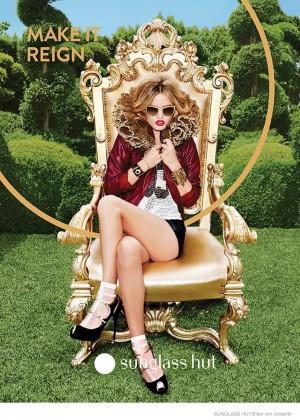Georgia May Jagger - Sunglass Hut 2014 Campaign