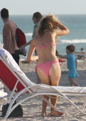 Georgia May Jagger Bikini Photos: 2014 in Miami -03