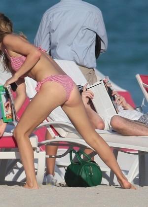 Georgia May Jagger Bikini Photos: 2014 in Miami -14