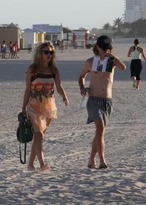 Georgia May Jagger Bikini Photos: 2014 in Miami -22
