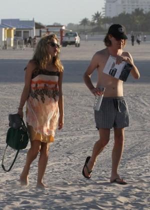 Georgia May Jagger Bikini Photos: 2014 in Miami -23