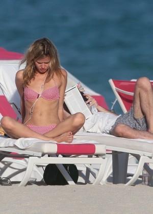 Georgia May Jagger Bikini Photos: 2014 in Miami -29