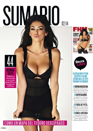 Georgia Salpa: FHM Spain 2014 -03