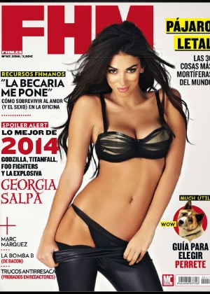 Georgia Salpa: FHM Spain 2014 -05
