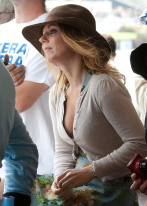 Geri Halliwell - The Goodwood Revival 2014 Festival in West Sussex