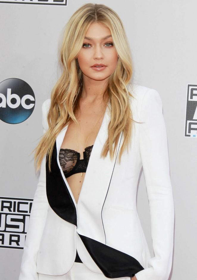 Gigi Hadid - 2014 American Music Awards in LA