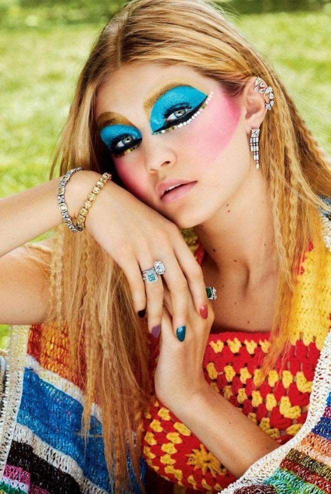 Gigi Hadid - Harper's Bazaar US Magazine (December 2014)