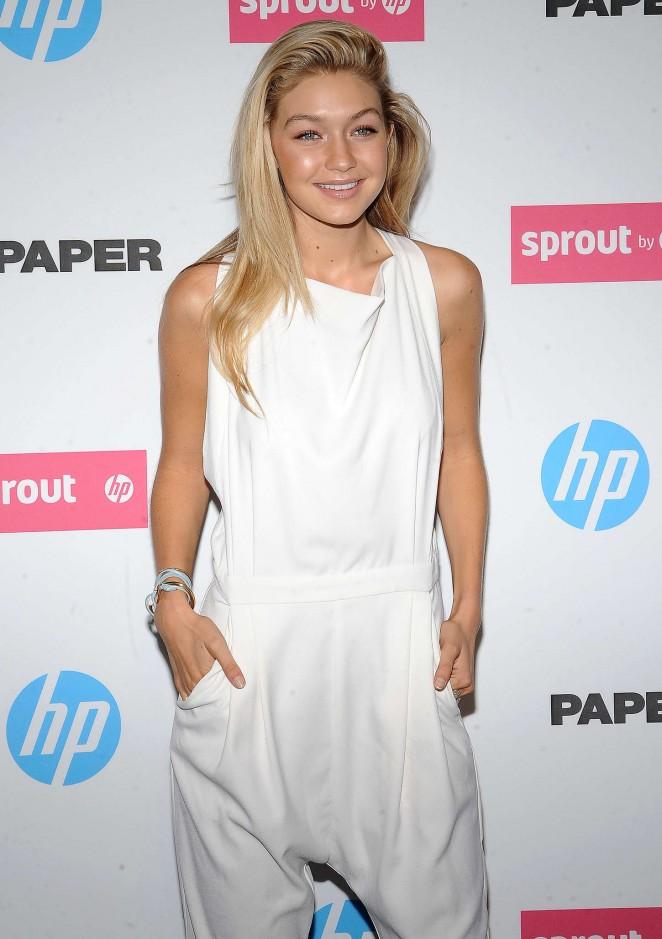 Gigi Hadid - Paper Magazine New Technology Launch in New York