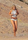 Gigi Hadid - Photoshoot at Vasquez Rocks Park in Los Angeles-15