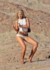 Gigi Hadid - Photoshoot at Vasquez Rocks Park in Los Angeles-16