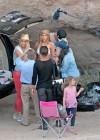 Gigi Hadid - Photoshoot at Vasquez Rocks Park in Los Angeles-17
