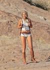 Gigi Hadid - Photoshoot at Vasquez Rocks Park in Los Angeles-19