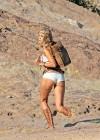 Gigi Hadid - Photoshoot at Vasquez Rocks Park in Los Angeles-27