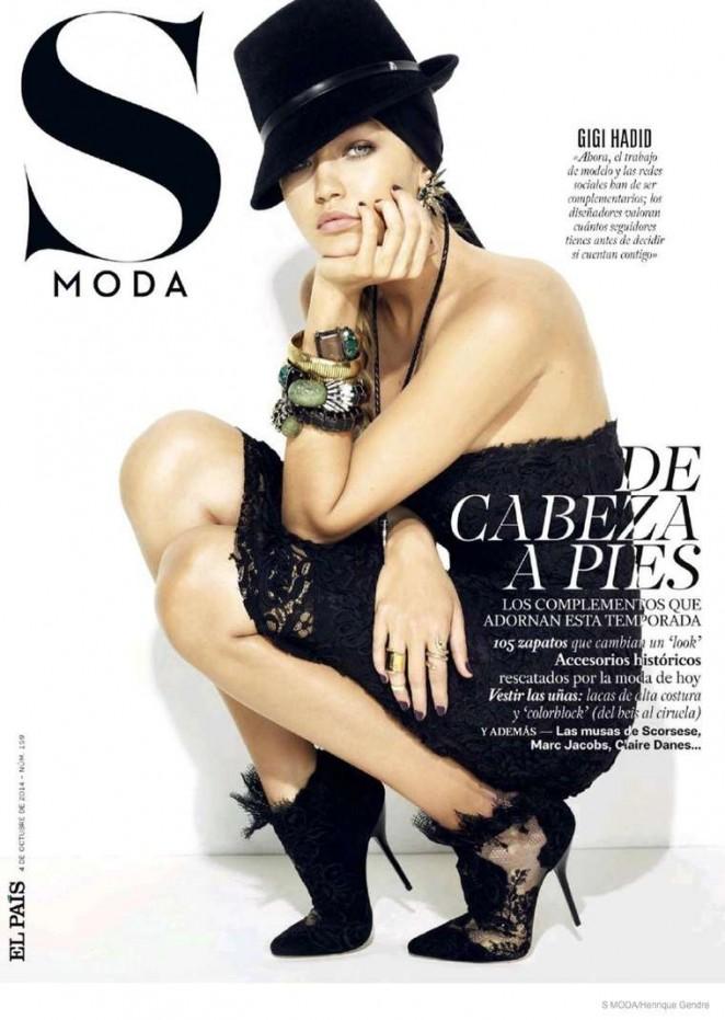 Gigi Hadid - S Moda Magazine (October 2014)