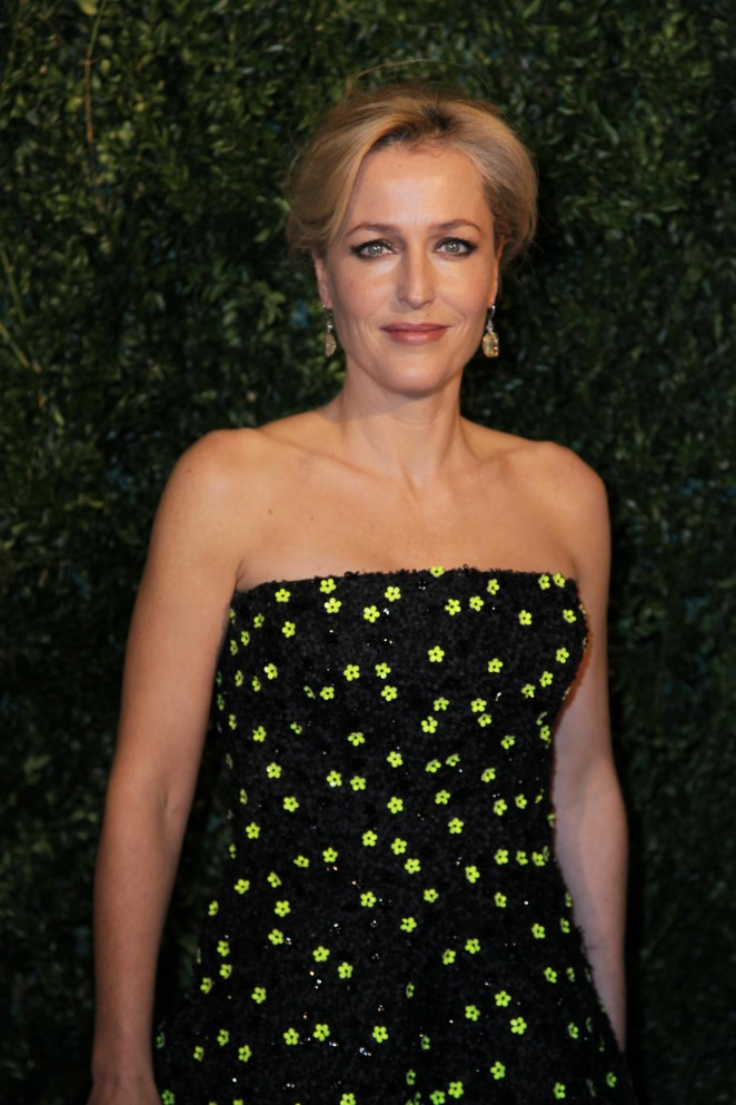 Gillian Anderson - 60th London Evening Standard Theatre Awards in London