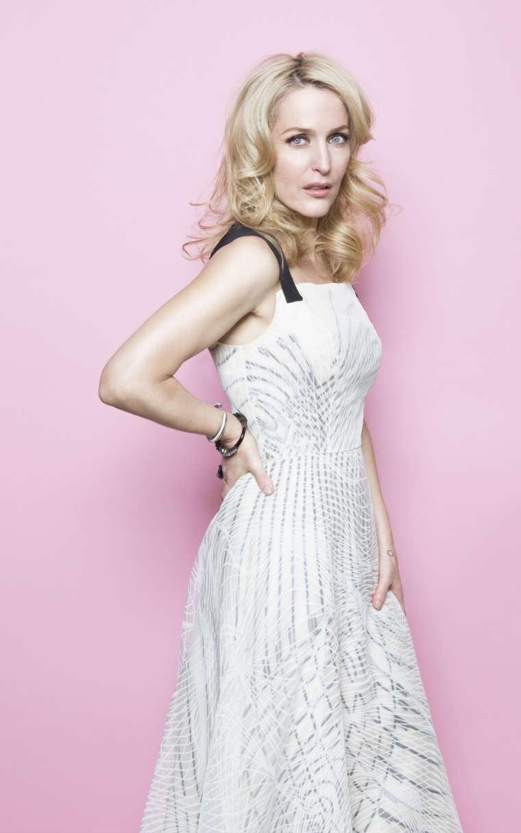 Gillian Anderson by Al... Paris Hilton