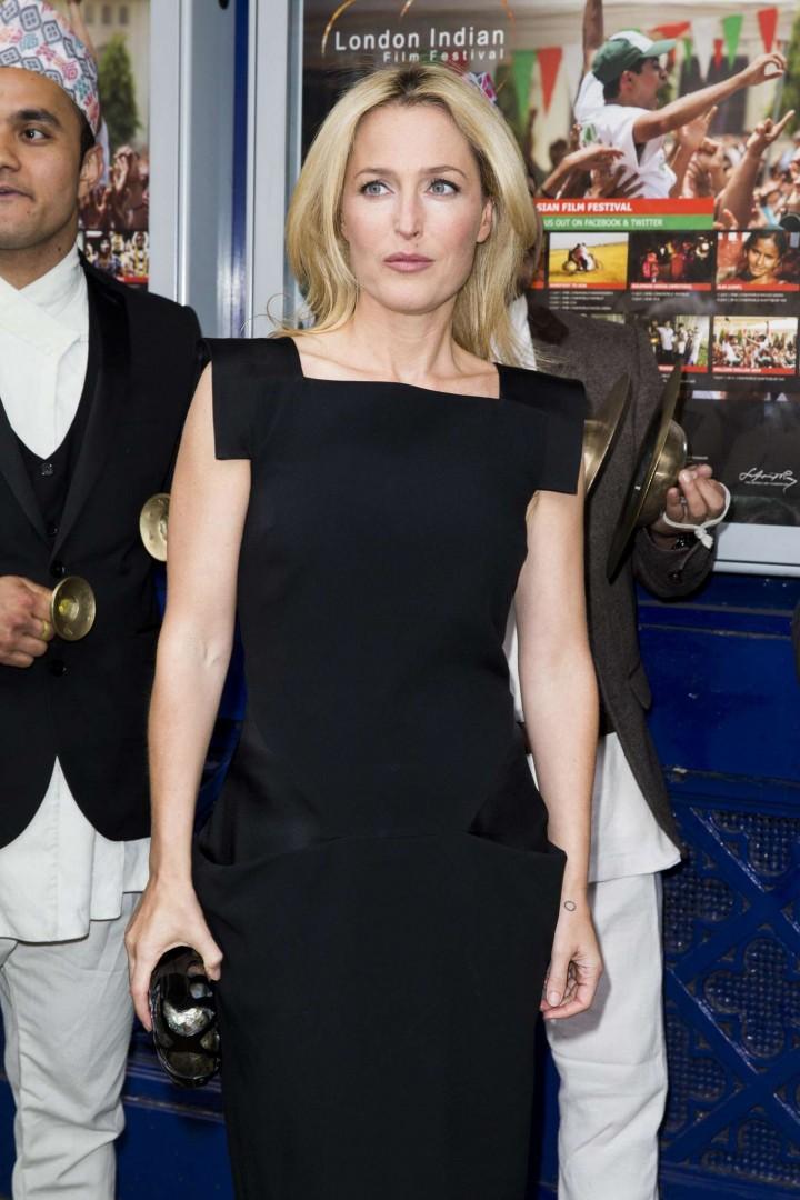 Gillian Anderson at London Indian Film Festival 2014