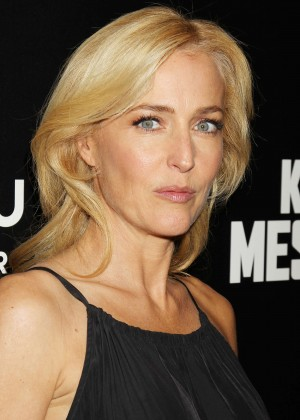 Gillian Anderson - 'Kill The Messenger' Premiere in NYC