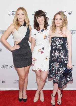 Gillian Jacobs and Leighton Meester: Tribeca Film Fest 2014 -01