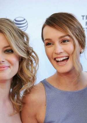 Gillian Jacobs and Leighton Meester: Tribeca Film Fest 2014 -03