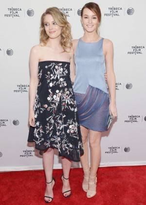 Gillian Jacobs and Leighton Meester: Tribeca Film Fest 2014 -04