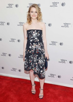 Gillian Jacobs and Leighton Meester: Tribeca Film Fest 2014 -07