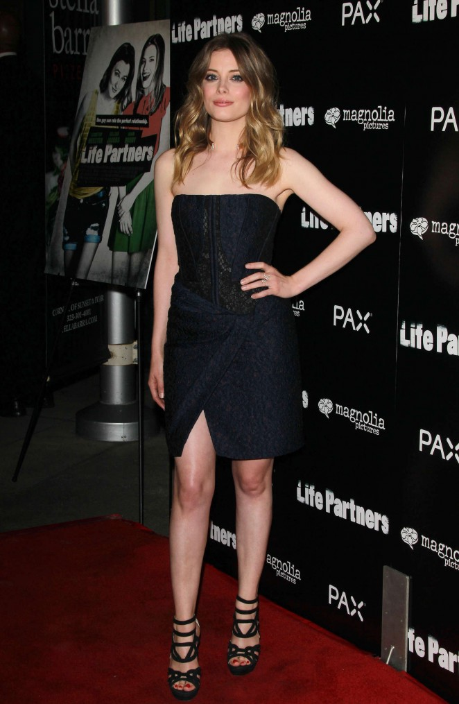 "Gillian Jacobs at red carpet ""Life Partners"" premiere in Hollywood"
