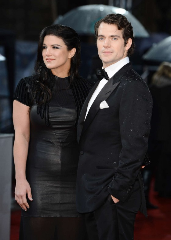 Gina Carano - 2013 BAFTA Awards -01