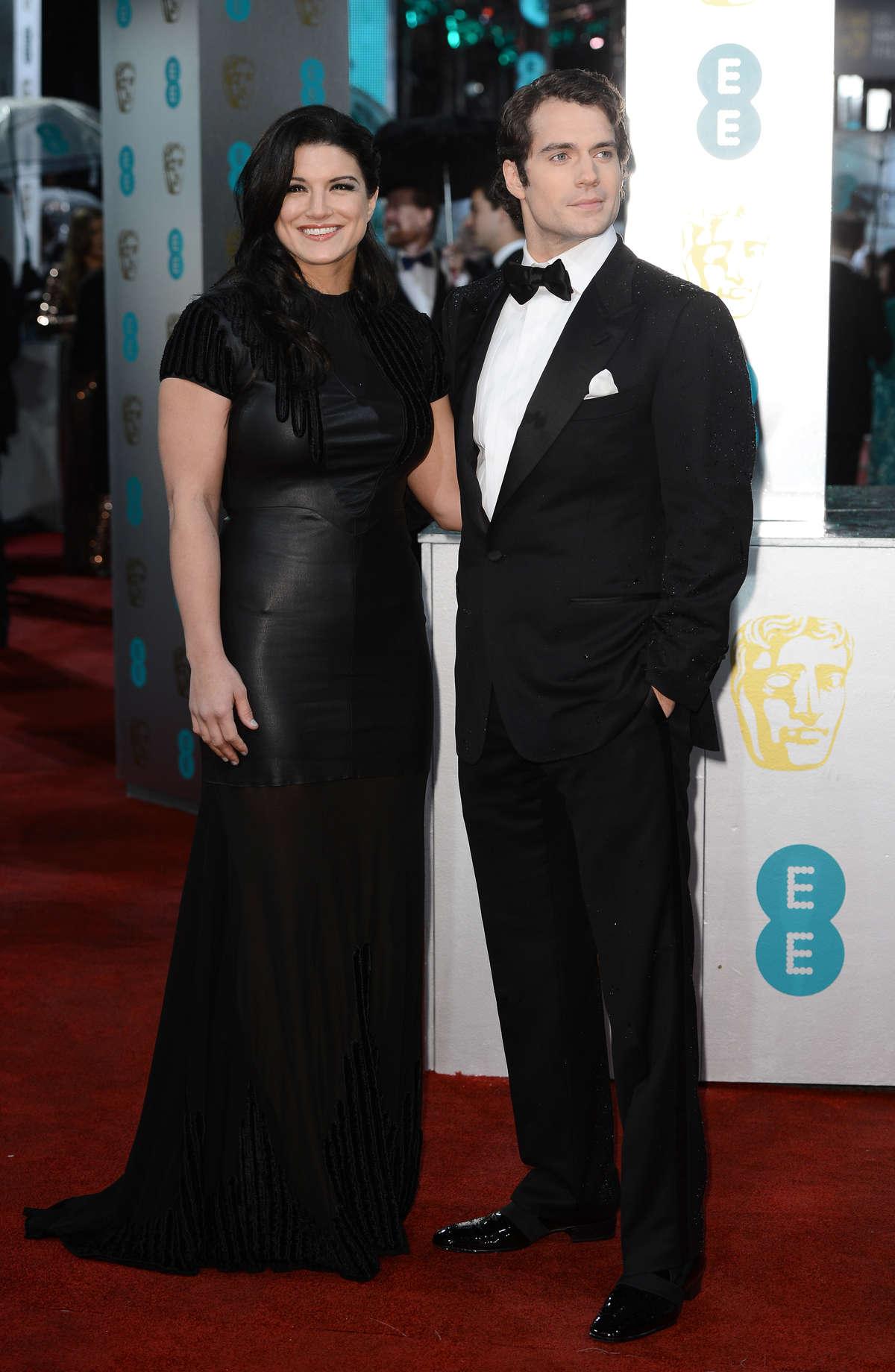 Gina Carano - 2013 BAFTA Awards -02 - GotCeleb