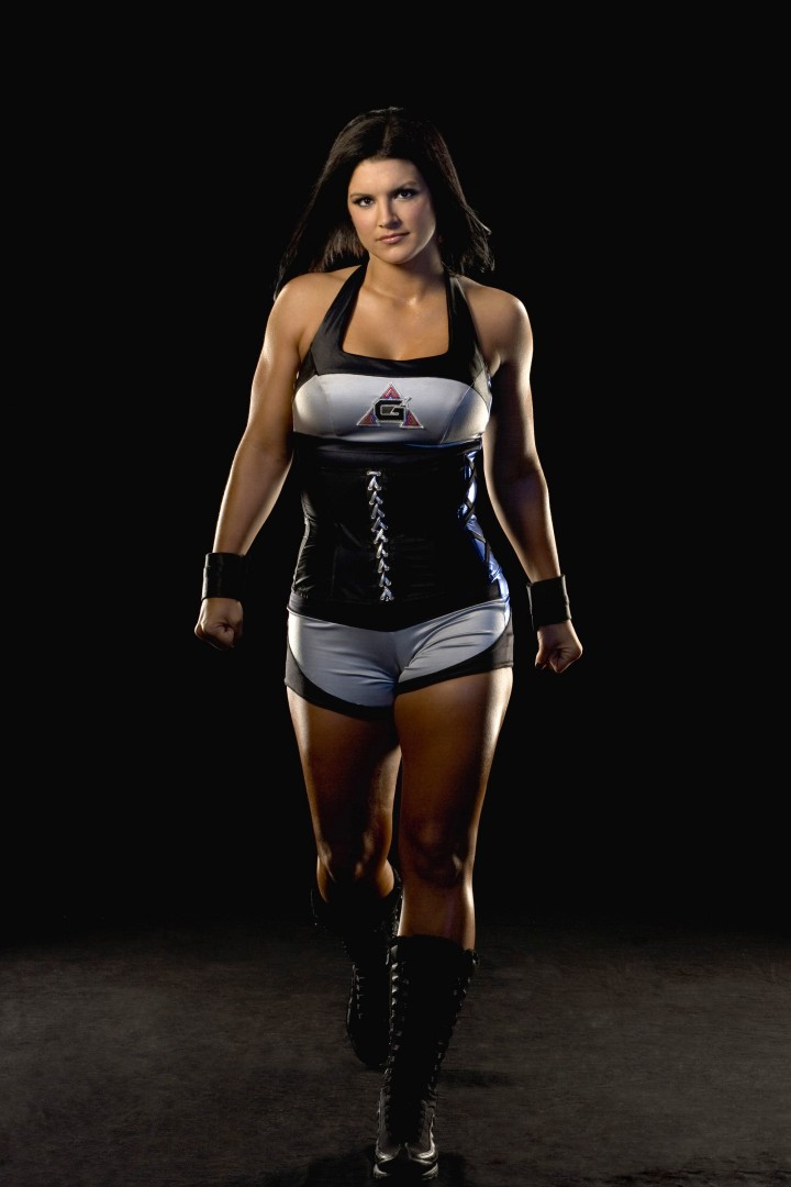 Gina Carano – American Gladiators Photoshoot by Paul Drinkwater