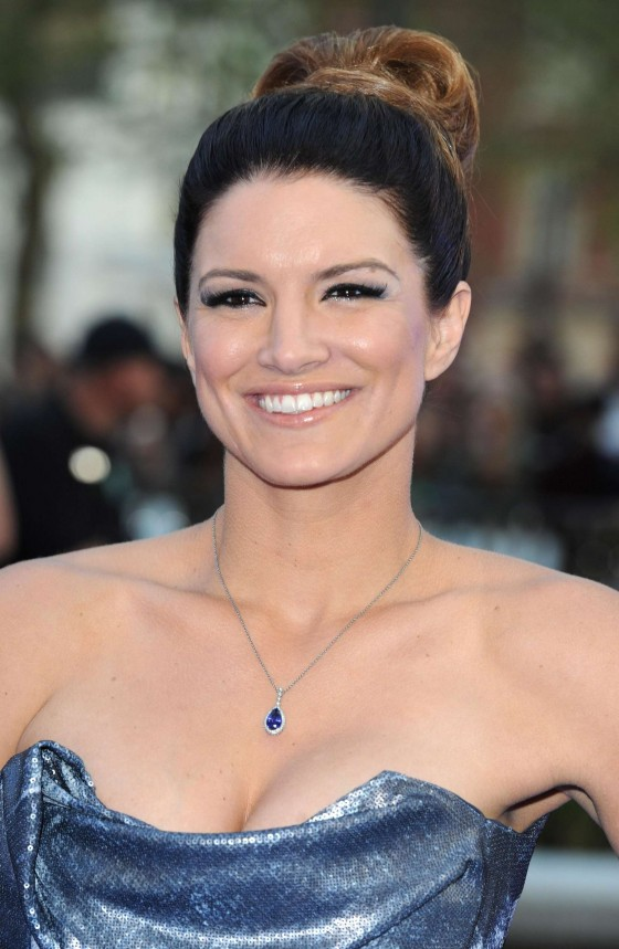 Gina Carano at Fast and Furious 6 Premiere -03
