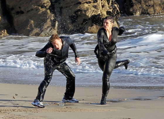 gina-carano-in-wetsuit-on-haywire-08 - GotCeleb