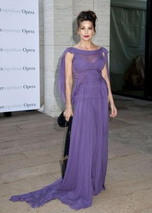 Gina Gershon - Metropolitan Opera Season Opening in NYC