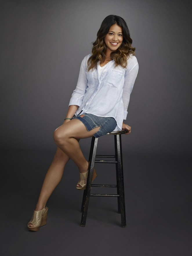 Gina Rodriguez - 'Jane The Virgin' Season 1 Promotional Shoot