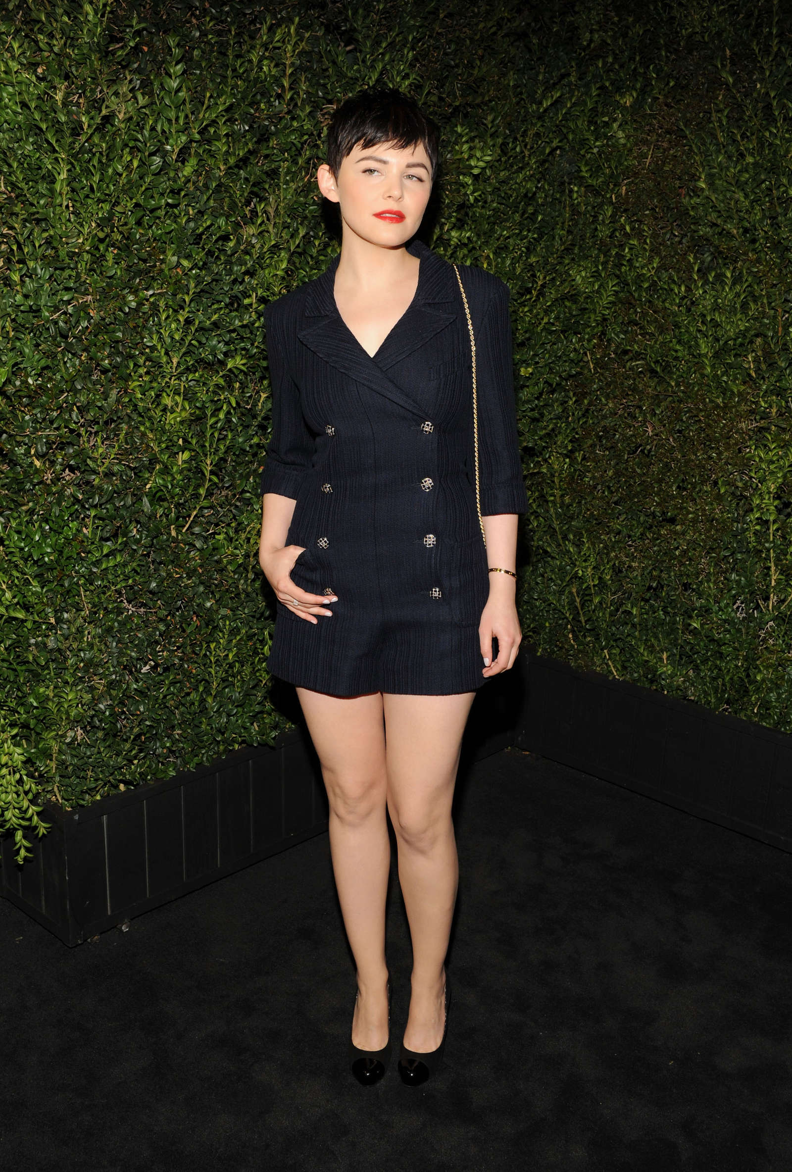 ginnifer goodwin chanel preoscar 2013 dinner 02 gotceleb
