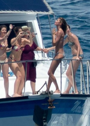 Gisele Bundchen Bikini Photos: 2014 in Brazil -06